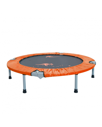 "FC 40"" FOLDABLE TRAMPOLINE(CANVAS)-ORANGE"
