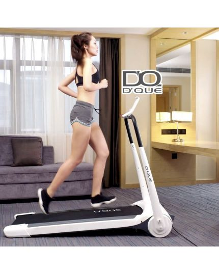 DQue Compact Slim Treadmill [READY STOCK]
