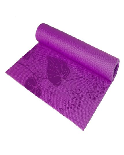 FC Live + Yoga Mat with Mesh Bag-Purple