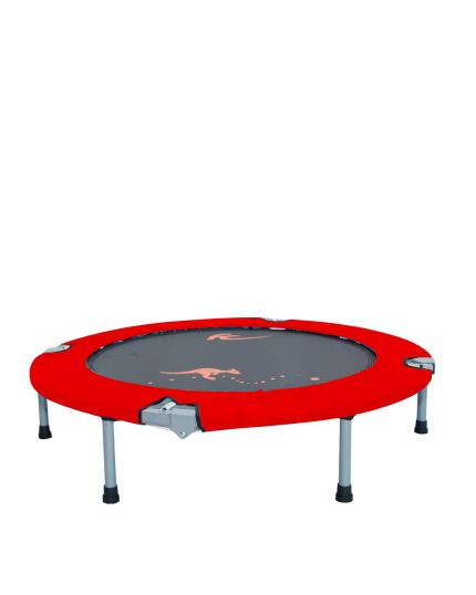 "FC 48"" FOLDABLE TRAMPOLINE(CANVAS)-RED"