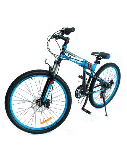 "Nordictrack Folding Bike 26""- Matte Blue [READY STOCK]"