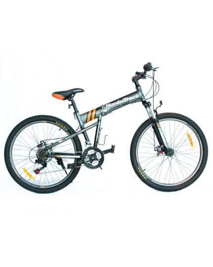 "Nordictrack Folding Bike 26""-Grey [READY STOCK]"