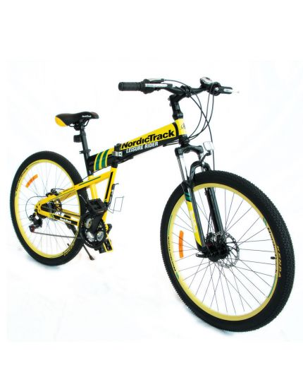 "Nordictrack Folding Bike 26""-Yellow [PRE-ORDER]"