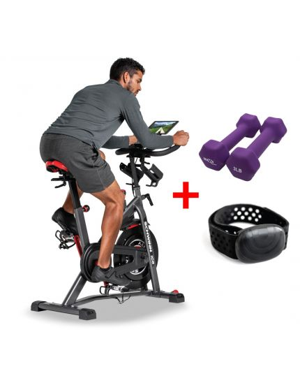 SCHWINN IC8 PACKAGE PROMO [HEART RATE STRAP+DUMBELL]